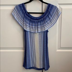 Cute WHBM on/off shoulder top